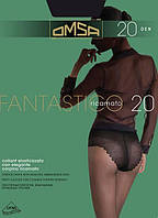 Колготки OMSA fantastico 20 3 (M) 20 FUMO (серый)