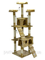 Домик для кошки когтеточка драпак дерево для кота 170см