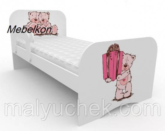 Кроватка Детская Мишка с Подарком