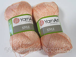Yarnart Style (Стайл) 67%хлопок, 33%вискоза 658