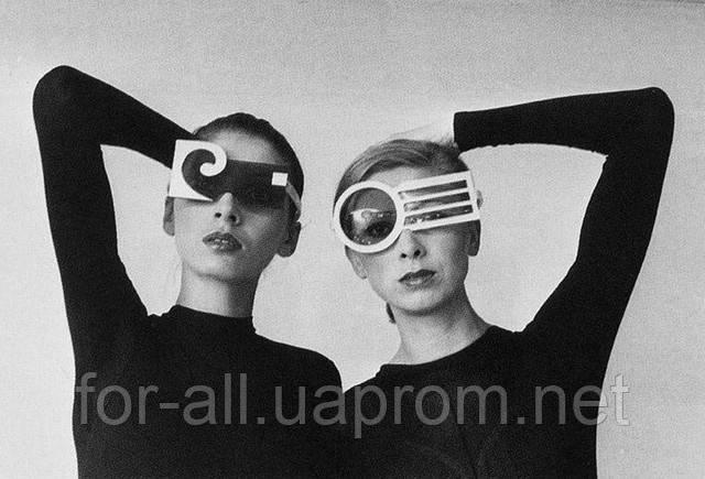 Формы солнцезащитных очков 50-х годов