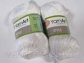 Yarnart Style (Стайл) 67%хлопок, 33%вискоза 650