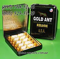Препарат для потенции Gold Ant - Золотой Муравей, 12табл+12пилюль.