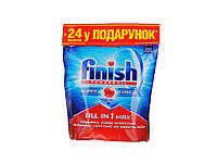 """166821. Таблетки для посудомиючих машин TABS ALL in 1 24 + 24 таб. (BOGOF) ТМ""""FINISH"""""""