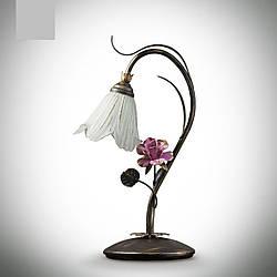 Настольная лампа в стиле флористика 15600-2