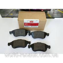 Комплект передних тормозных колодок на Рено Доккер, Дачиа Доккер/ MOTRIO 8660000781