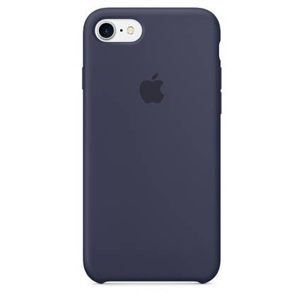 Силиконовый чехол для iPhone 7/8 Plus серый, фото 2