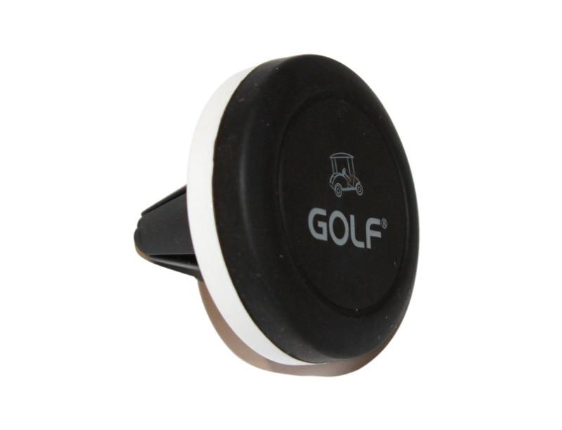 Автодержатель для телефона Golf GF-CH02 Black, крепление дефлектор воз