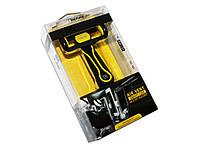 Автодержатель для телефона Remax RM-C24 Black-Yellow зажимной фиксатор, крепление дефлектор воздуховода