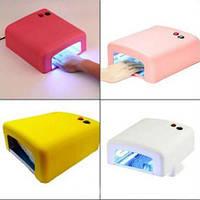 Ультрафиолетовая лампа Уф 818 на 36 Вт для сушки ногтей, гель лака