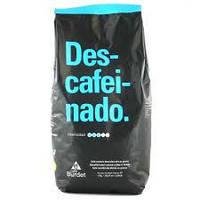 Кофе в зернах Cafe Burdet Descafeinado без кофеина, 1 кг (Испания)