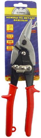 Ножницы по металлу Сталь 250 мм, правые (арт. 41007)