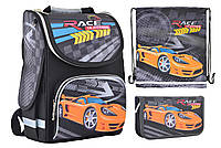 Набор Smart для мальчика рюкзак 554559, пенал 531742, сумка 555254