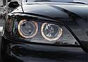 Фары OPEL ASTRA G 09.97-02.04 ANGEL EYES BLACK, фото 2