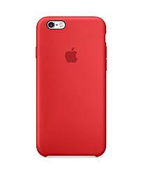 Силиконовый чехол для iPhone 7/8 красный