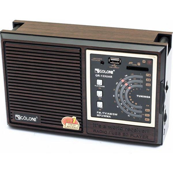 Радиоприёмник радио GOLON RX-9933 высокая чувствительность, качество