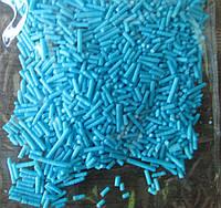 Пасхальная посыпка вермишель (голубая)