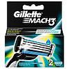Сменные картриджи для бритья (2шт) (Original) - Gillette Mach3