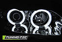 Фары OPEL ASTRA G 09.97-02.04 ANGEL EYES CCFL CHROME, фото 3