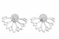 Серьги Turkish Jewels из медицинской стали двухслойные