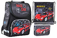 Набор 1 вересня Smart для мальчика рюкзак 554513, пенал 531702, сумка 555248
