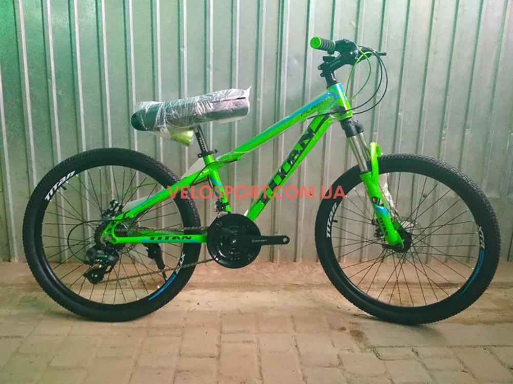 Подростковый велосипед Titan Flash 24 дюйма