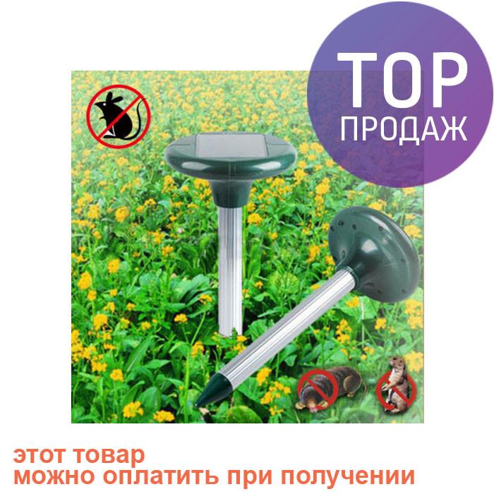 Отпугиватель кротов Solar Rodent Repeller, на солнечной батарее / электроприбор от насекомых и грызунов - БРУКЛИН интернет-гипермаркет в Киеве