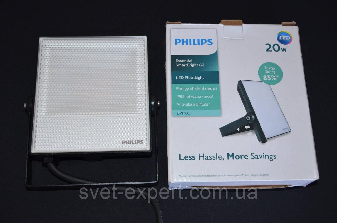 Прожектор світлодіодний BVP132 LED16/NW 20W 220-240V WB PIR Philips