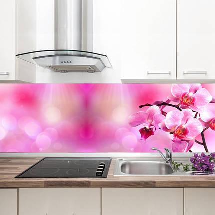 "Фартук на кухню / Скинали ""Розовая орхидея"", фото 2"