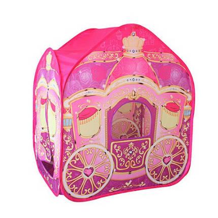 Детская игровая палатка M 3316 Карета для принцесс, фото 2