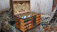 Сундук книжный стандартный прямоугольный 70х38х32 см