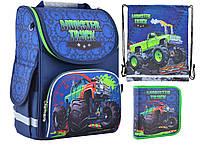 Набор 1 вересня Smart для мальчика рюкзак 554523, пенал 551712, сумка 555244