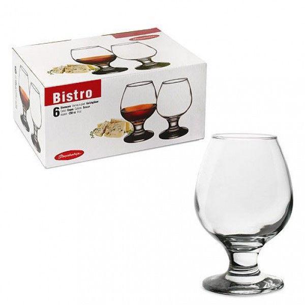 Набор бокалов для коньяка Pasabahce Bistro 250мл 6шт.