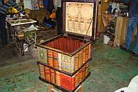 Сундук квадратный книжный 47х49х54 см, фото 1