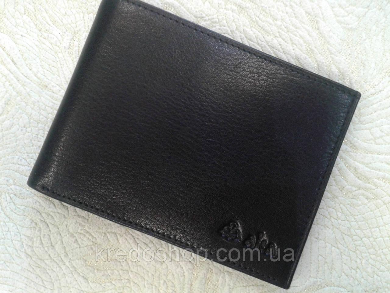 47f6d633683f Кожаный бумажник мужской черный AKA Deri(Турция) - Интернет-магазин сумок и  аксессуаров