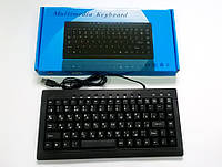 Клавиатура проводная 838 Slim+мультимедия