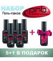 Набор гель-лаков PNB 5+1