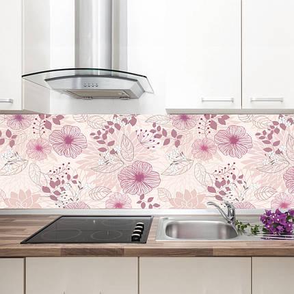 """Фартук на кухню / Скинали """"Цветочная композиция"""", фото 2"""