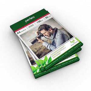 Фотобумага Perfeo глянцевая А4, 150 г/м2, упаковка 50 листов