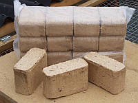 Брикети паливні RUF з дерев'яних опилок