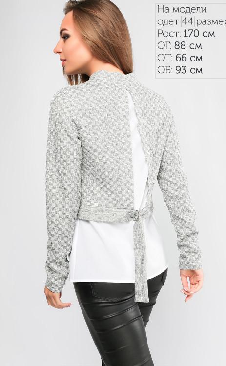 df581ff53541 Оригинальная кофта-блузка из ангоры и шифона - купить по лучшей цене ...