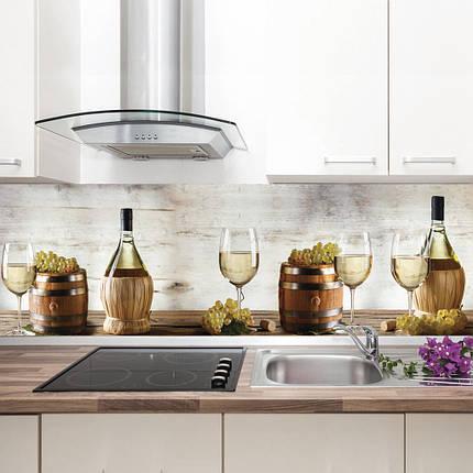 "Фартук на кухню / Скинали ""Белое вино"", фото 2"