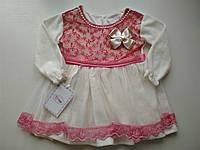Нарядное велюровое платье