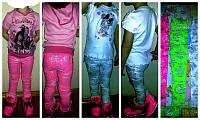 Яркие летние брюки-лосины для девочки!, фото 1