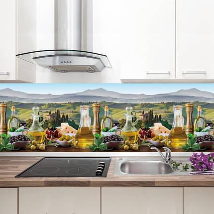 "Фартук на кухню / Скинали ""Оливковый рай"", фото 2"