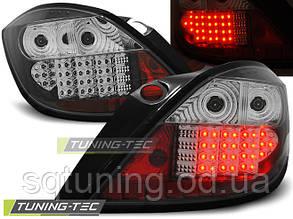 Задние фонари OPEL ASTRA H 03.04-09 5D BLACK LED