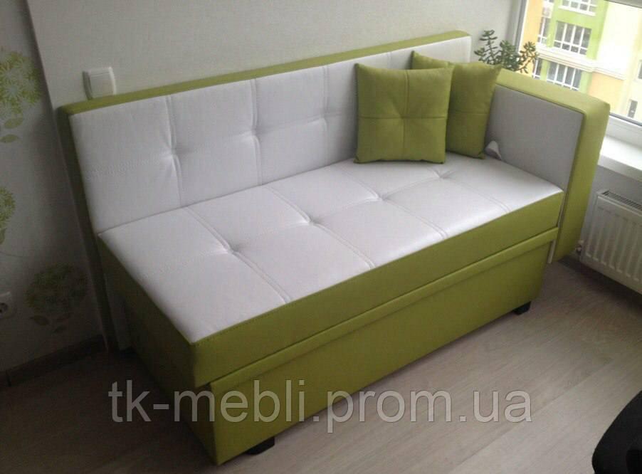 кухонный раскладной диванчик со спальным местом в маленькую кухню
