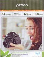 Фотобумага Perfeo матовая А4, 170 г/м2, упаковка 100 листов