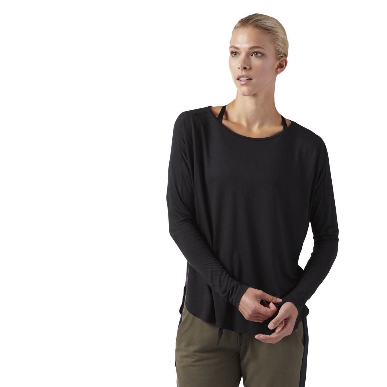 Женская футболка Reebok Training (Артикул: CF8657)