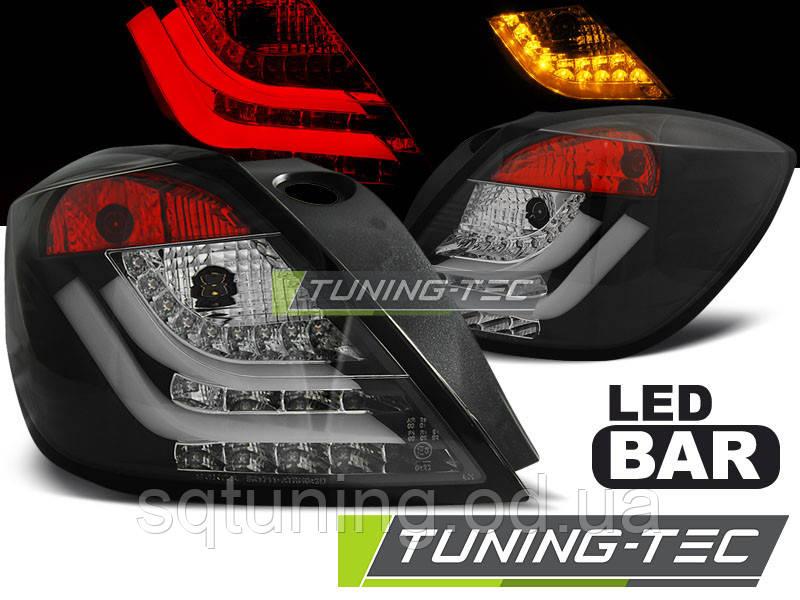 Задние фонари OPEL ASTRA H 03.04-09 3D GTC BLACK LED